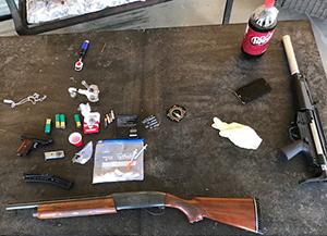 Kern Valley Deputies Make Arrest for Heroin, Methamphetamine and Illegal Firearm Possession